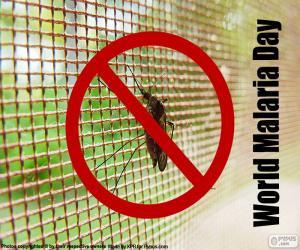 Puzle Světový den malárie