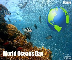 Puzle Světový den oceánů