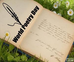 Puzle Světový den poezie