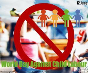 Puzle Světový den proti dětské práci