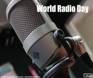 Puzle Světový den rádia