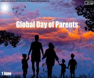Puzle Světový den rodičů