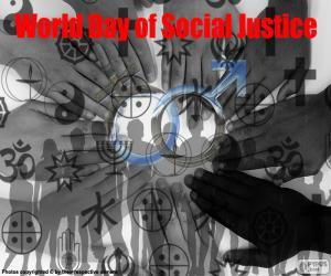 Puzle Světový den sociální spravedlnosti