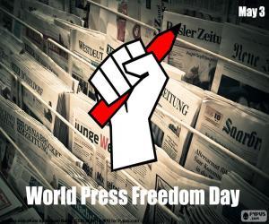 Puzle Světový den svobody tisku