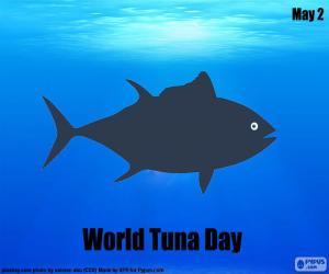 Puzle Světový den tuňáků