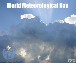 Puzle Světový meteorologický den