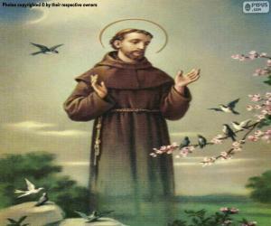 Puzle Svatý František z Assisi