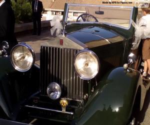 Puzle Svatební Rolls-Royce