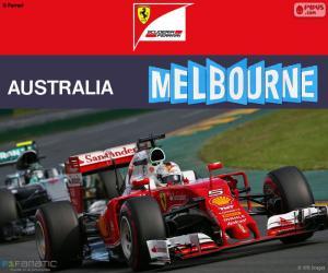 Puzle S.Vettel G.P Austrálie 2016