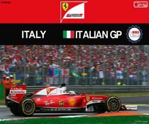 Puzle S.Vettel, G.P Itálie 2016
