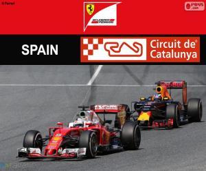 Puzle S.Vettel, Grand Prix Španělska 2016