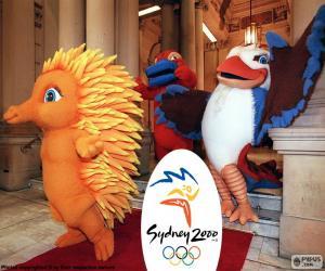 Puzle Sydney 2000 olympijské hry