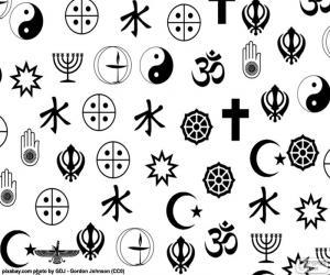 Puzle Symboly náboženství