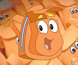 Puzle Sympatického magické batoh Diego