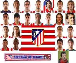 Puzle Tým Atlético Madrid 2010-11