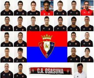 Puzle Tým CA Osasuna 2010-11
