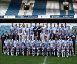 Puzle Tým Deportivo de La Coruña