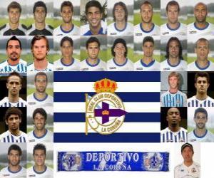 Puzle Tým Deportivo de La Coruña 2010-11
