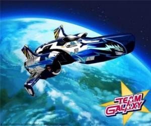 Puzle Tým Galaxy kosmická loď Hornet