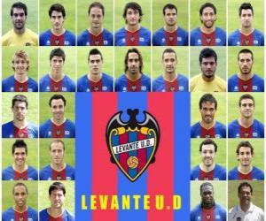Puzle Tým Levante UD SAD 2010-11