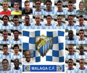 Puzle Tým Málaga CF 2010-11