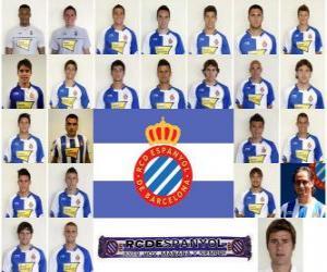 Puzle Tým RCD Espanyol 2010-11