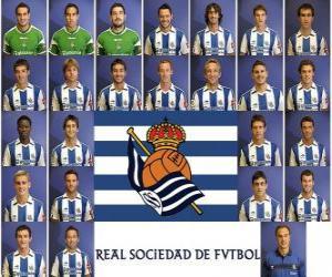 Puzle Tým Real Sociedad 2010-11