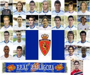 Puzle Tým Real Zaragoza 2010-11