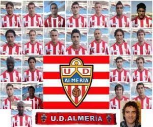 Puzle Tým Unión Deportiva Almería 2010-11