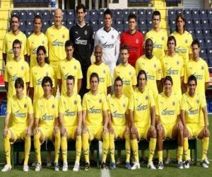 Puzle Tým Villarreal CF 2008-09