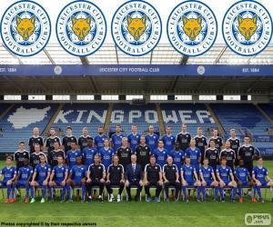 Puzle Tým z Leicesteru City 2015-16