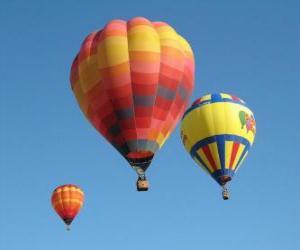 Puzle Tři balóny
