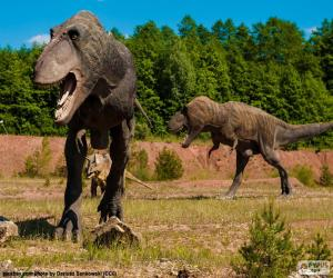 Puzle Tři dinosauři