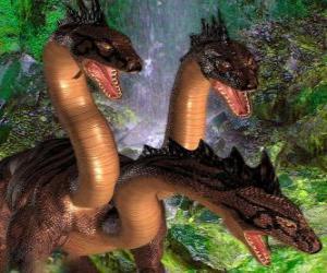Puzle Tři předchozí drak