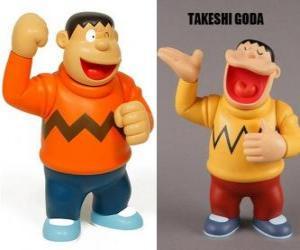 Puzle Takeshi Goda známý svými vrstevníky jako Gian, protože on je velký a silný chlapec