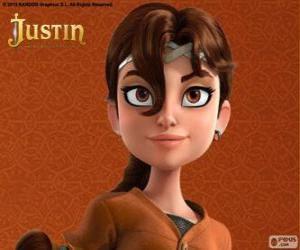 Puzle Talia je kolega dobrodruh Justin
