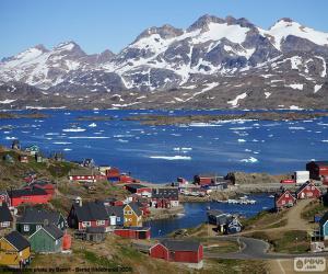 Puzle Tasiilaq, Grónsko