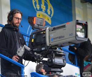 Puzle Televizní kameraman