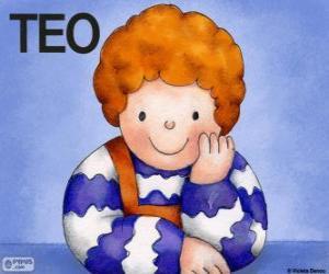 Puzle Teo, charakter který žije v knihách Violeta Denou pro děti