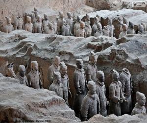 Puzle Terakotová armáda, Čína
