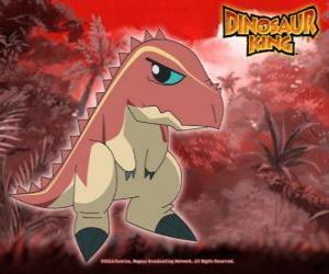 Puzle Terry, tyranosaurus vlastněných Uršula z alfa Gang