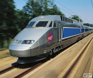 Puzle TGV, Francie