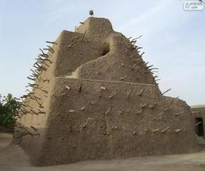 Puzle The tomb of Askia in Gao, Mali