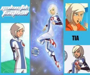 Puzle Tia je hráč číslo 4 z týmu sněhu děti, je jediný tým, který zpočátku má ducha