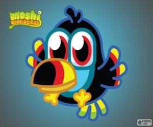 Puzle Tiki je Moshlings, tukan. Ptáčky set