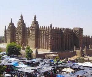 Puzle Timbuktu, Mali