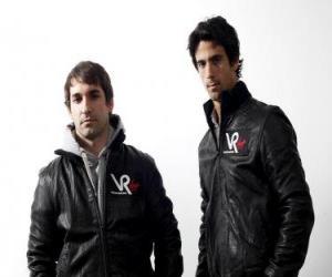 Puzle Timo Glock a Lucas di Grassi, piloti Panny Scuderia Racing