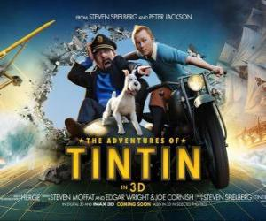 Puzle Tintinova dobrodružství