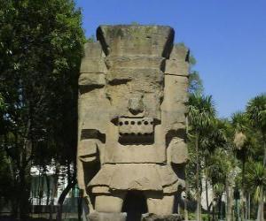 Puzle Tlatoc, bůh deště a plodnosti, je zakořeněn v kultuře Teootihuacan