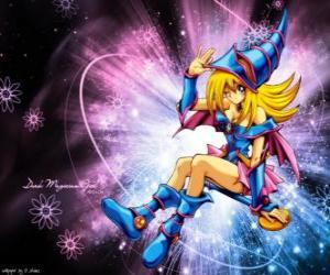 Puzle Tmavý kouzelník dívka je jinou formou, že Pegasus používá proti Kaiba